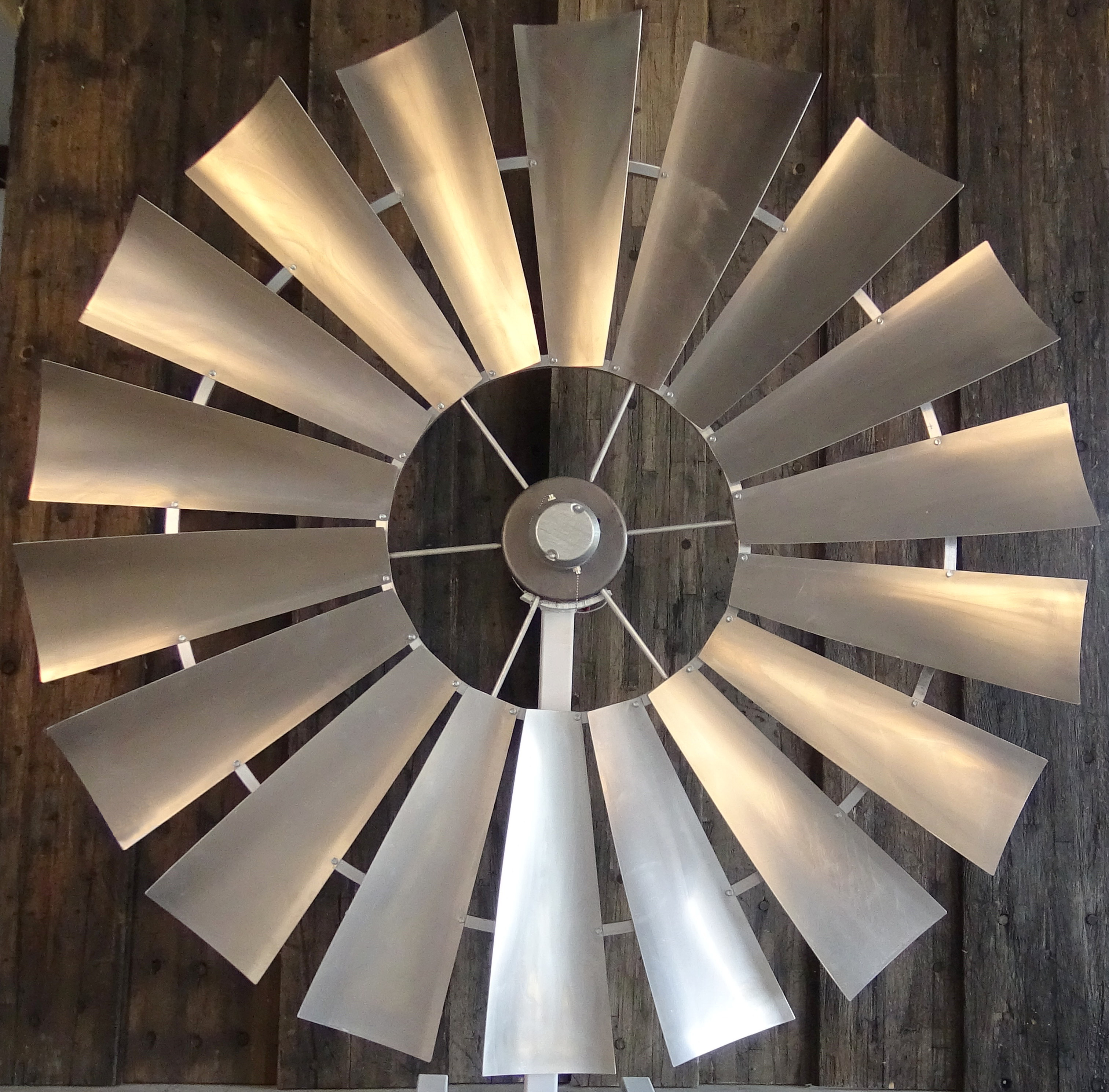 Galvanized 1 Windmill Ceiling Fans