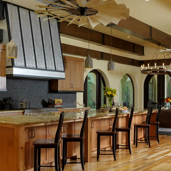 southern ranch kitchen