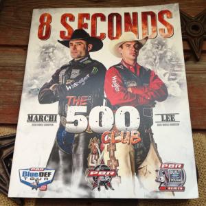 PBR 8 seconds souvenir program