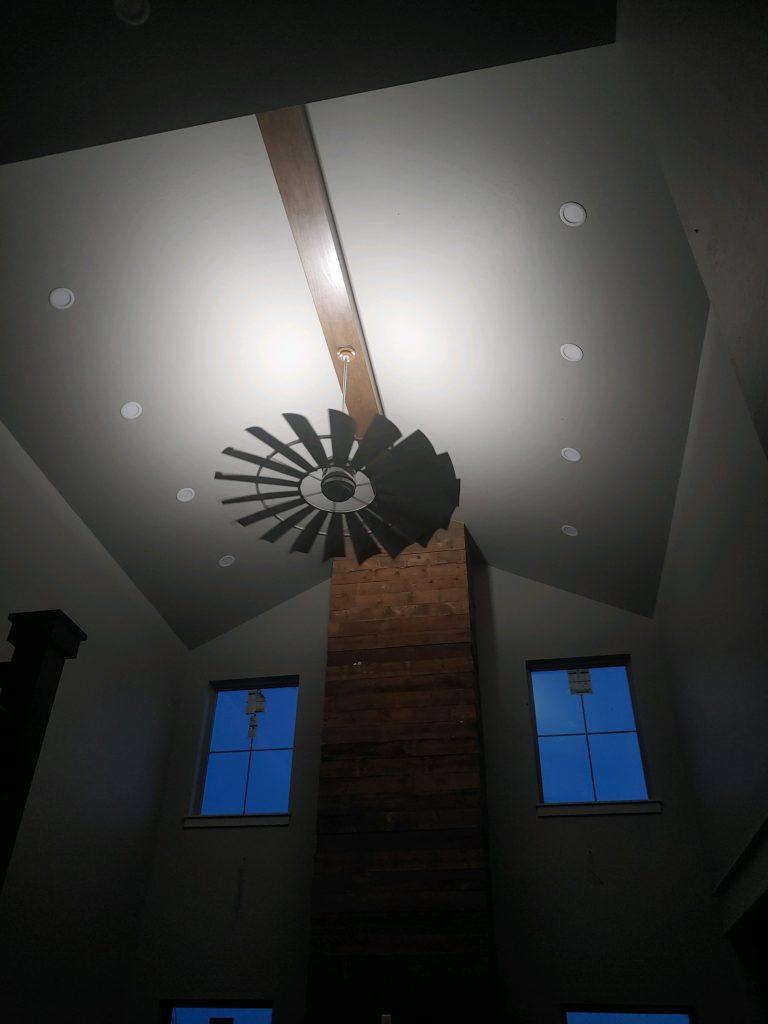 Windmill Ceiling Fan Lighting
