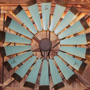 Custom-windmill-ceiling-fan-ranch-brand